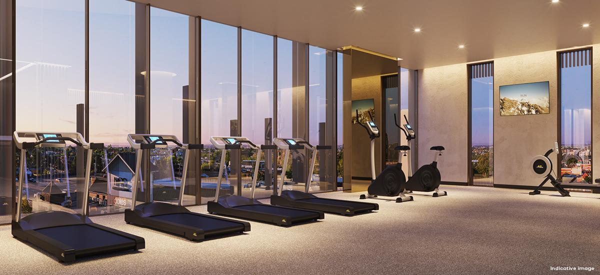 Rise Residences gym