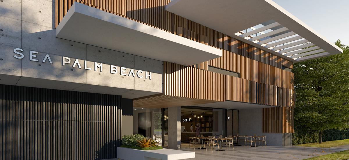 Sea Palm Beach lobby
