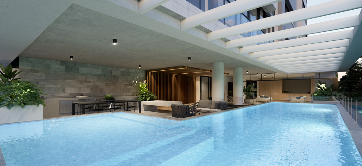 Sea Palm Beach swimming pool