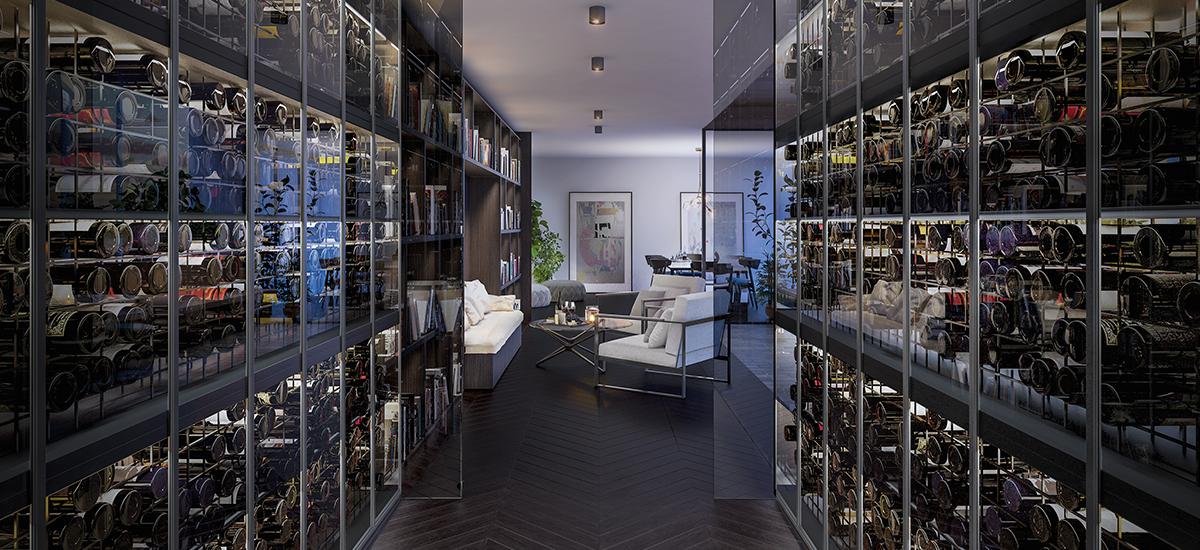 Shuter St wine room