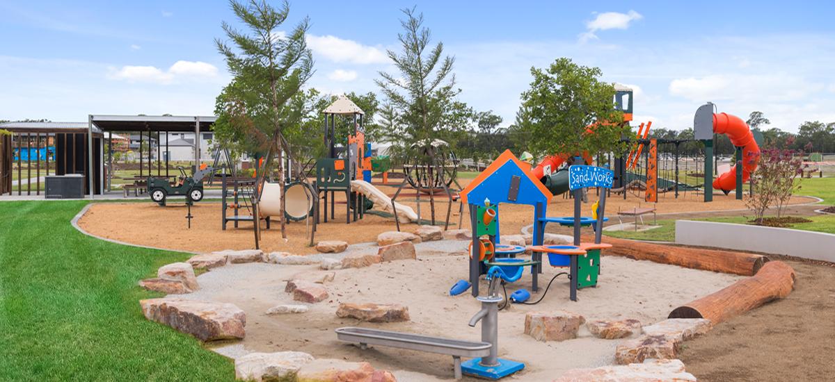 The Surrounds playground