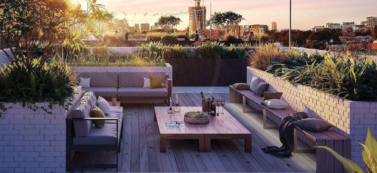 Teneo rooftop garden