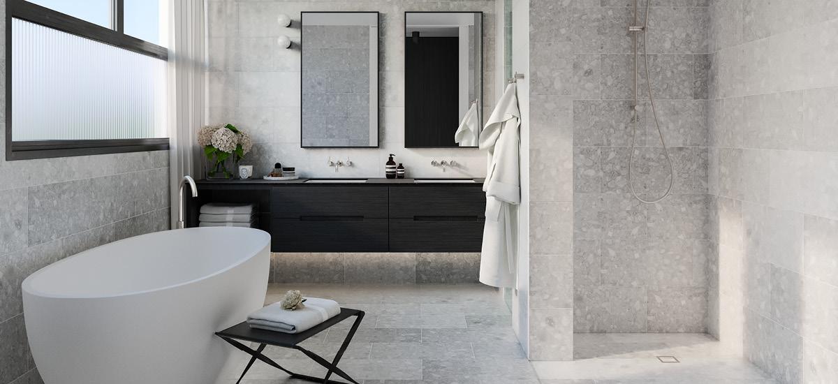 The Gentry bathroom