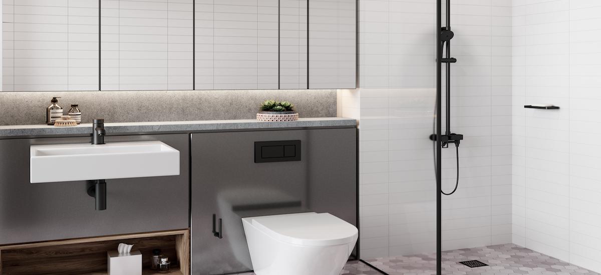 The Siding bathroom