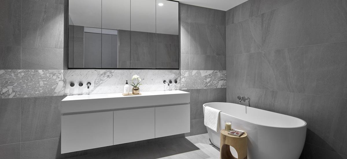 Turner Residences bathroom