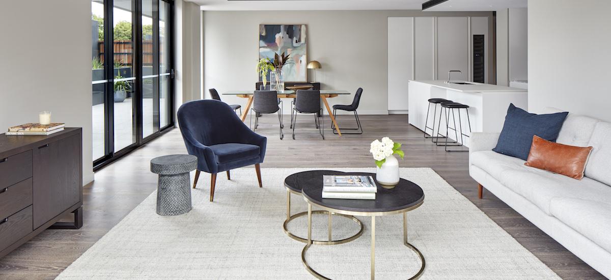 Turner Residences living room