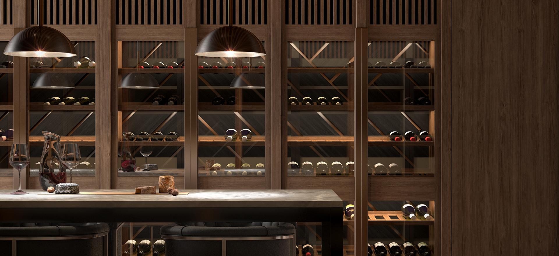 Yarra One wine storage