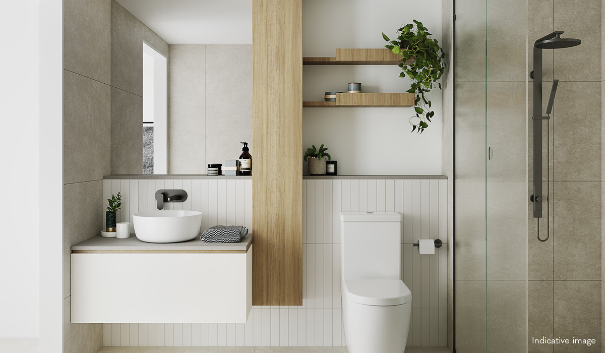 verso northcote bathroom apartment