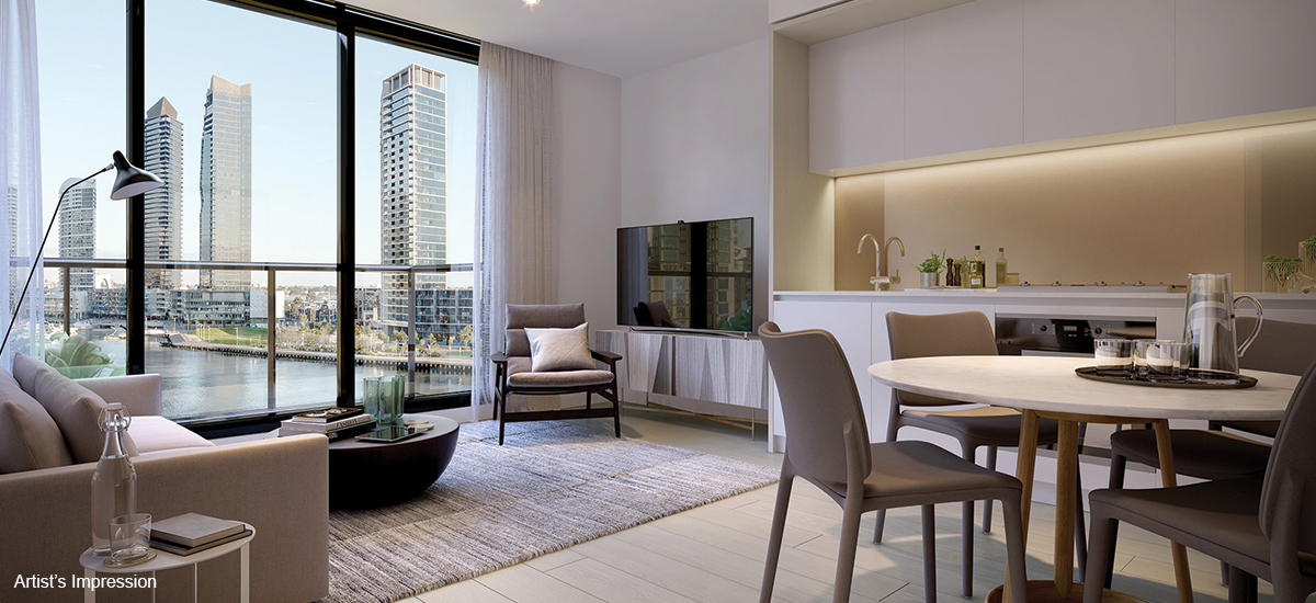 Victoria Harbour living area