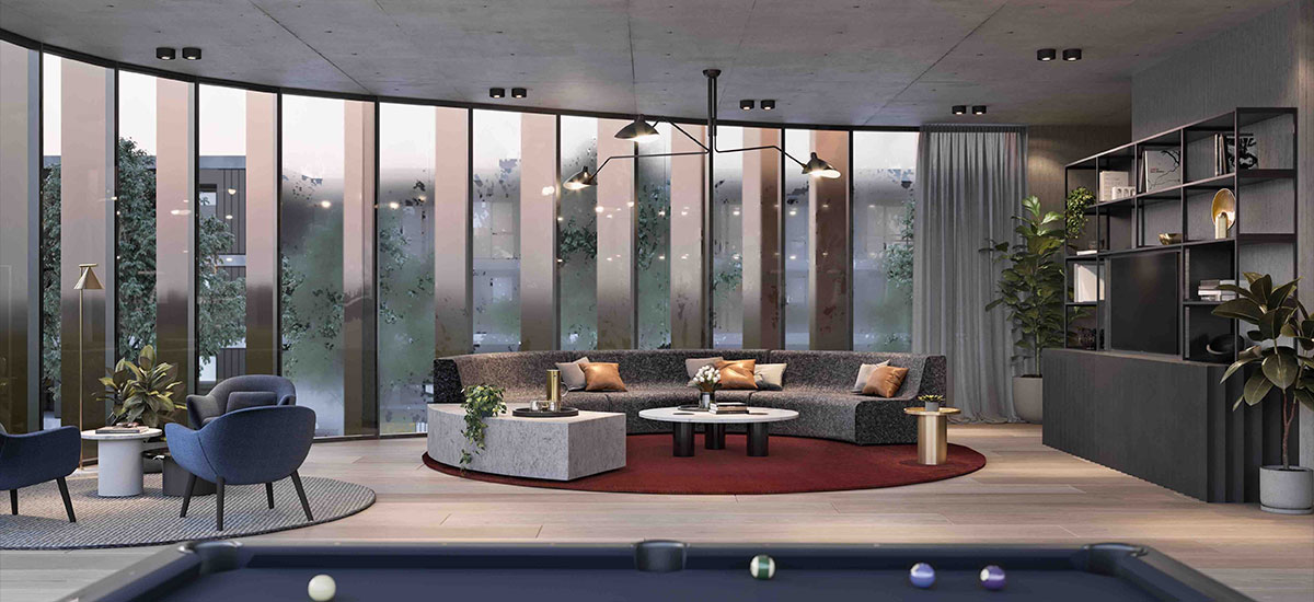 YarraBend's The Hub lounge
