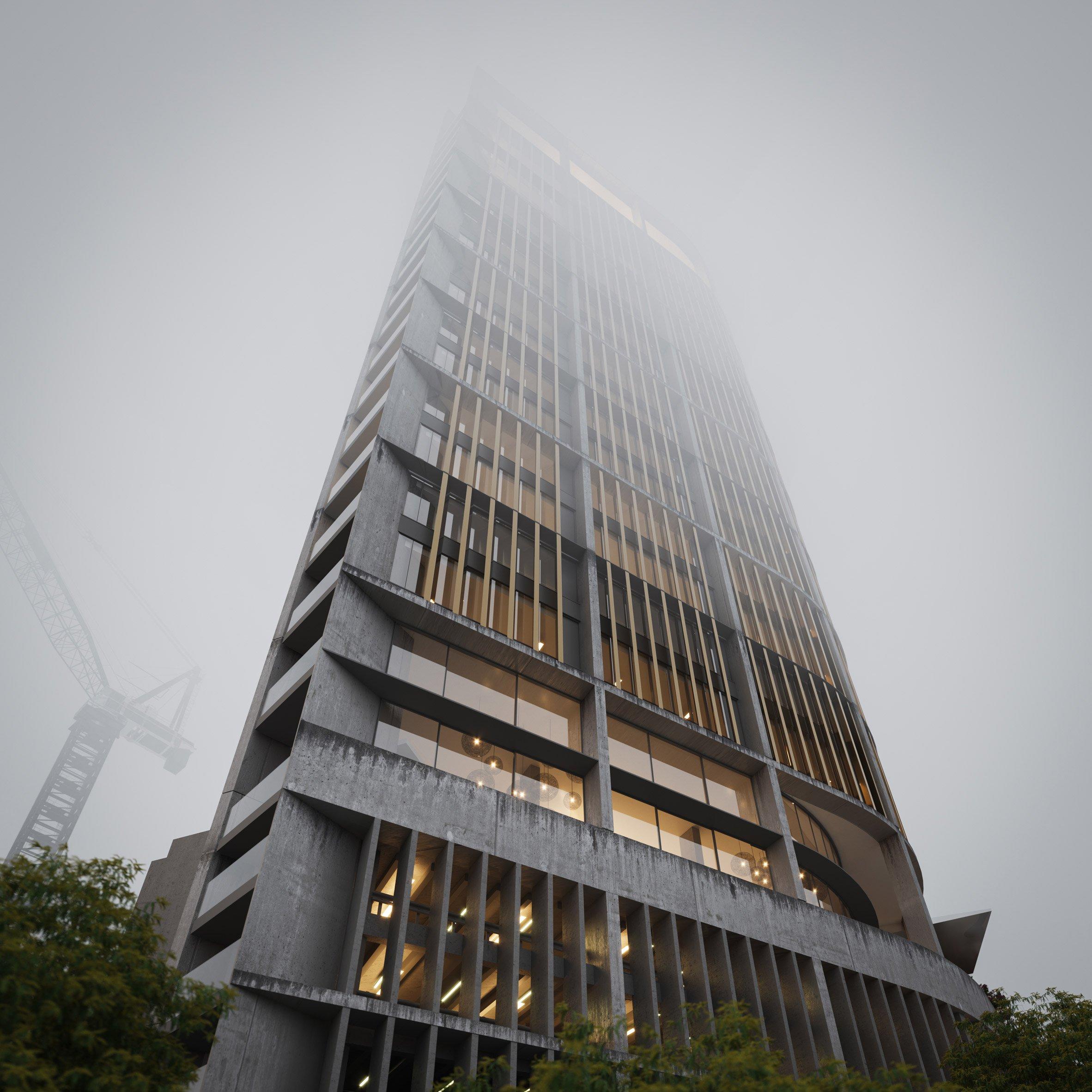 Foggy renders - Nairobi Kenya
