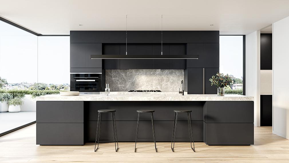 balmoral kitchen glen iris luxury apartments