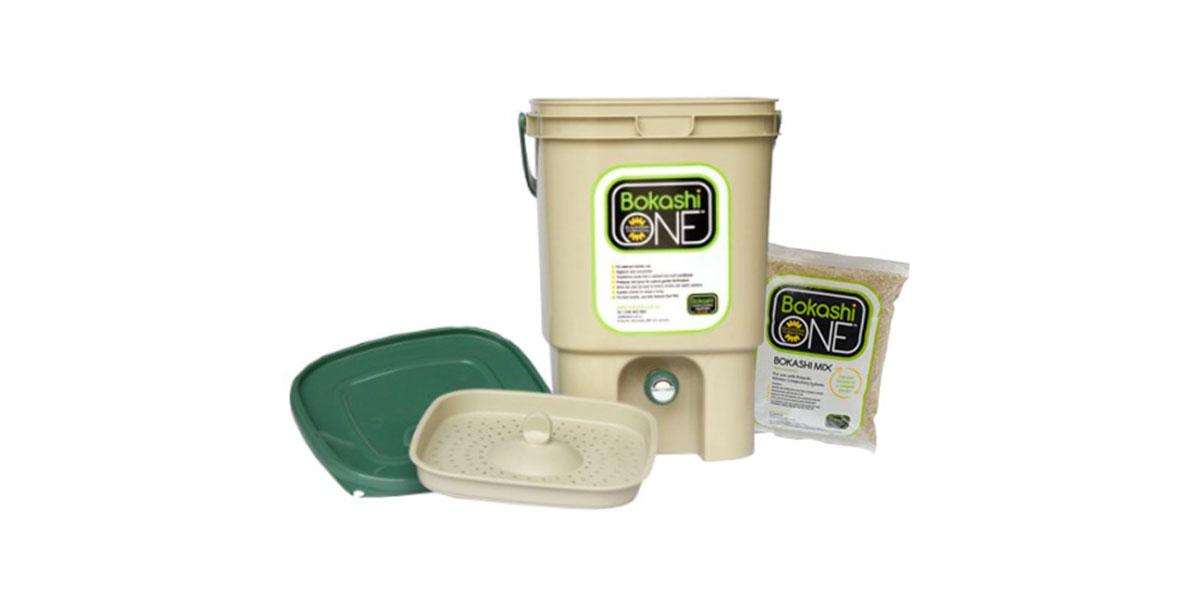 Bokashi One bin and mix