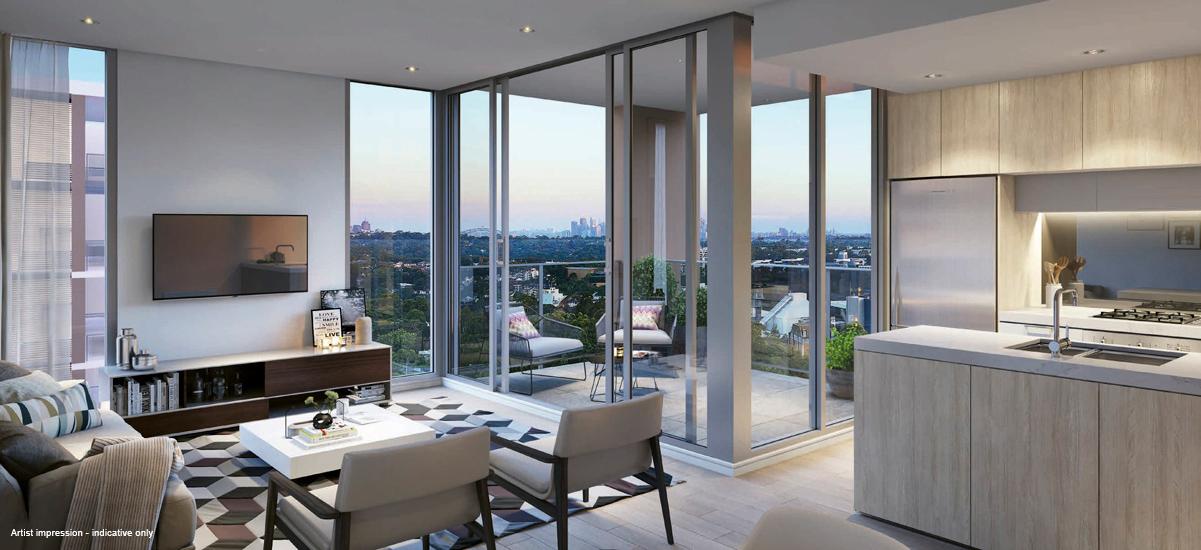 centrale nsw sydney apartment luxury balcony