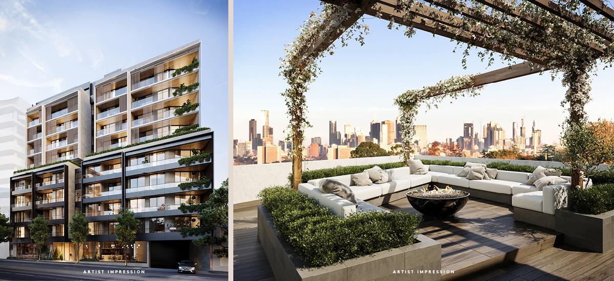 denmark kew rooftop terrace