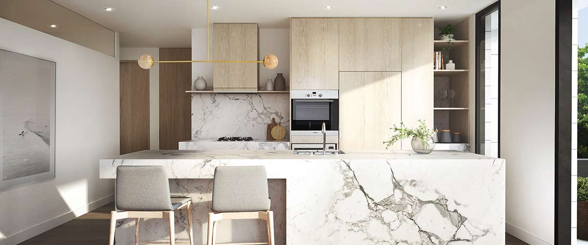 hedgeley house apartment luxury kitchen off the plan