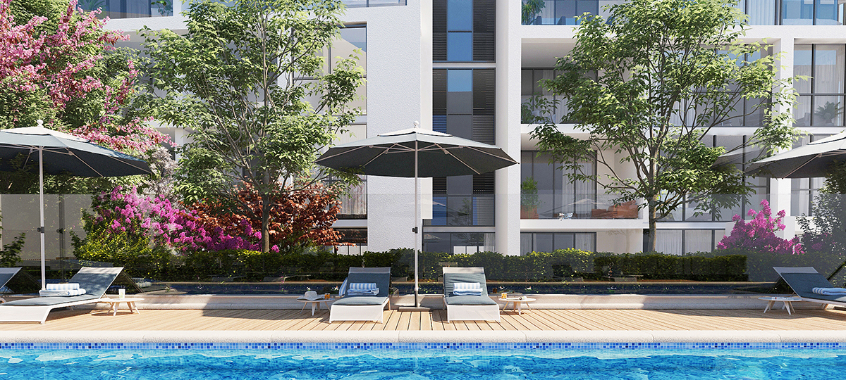 highline westmead pool luxury sundeck rooftop apartment off the plan