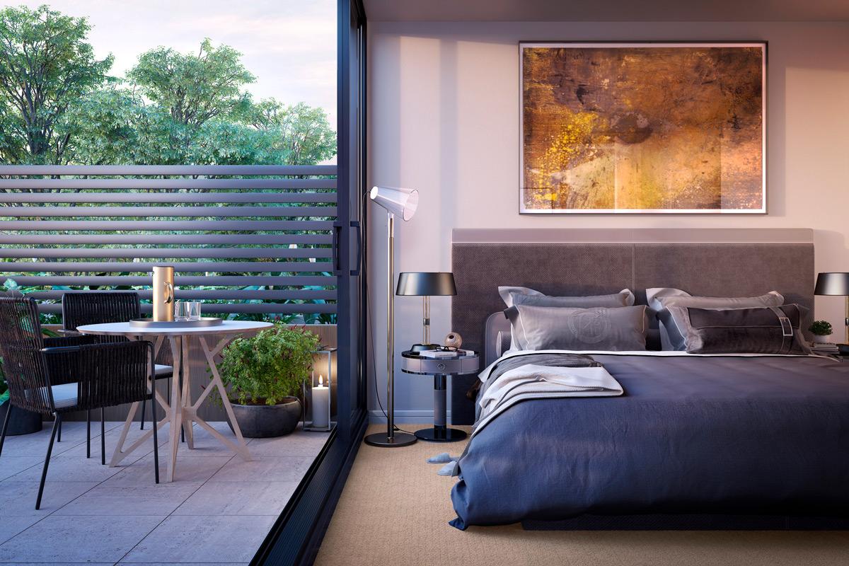 mckinnon living bedroom courtyard garden