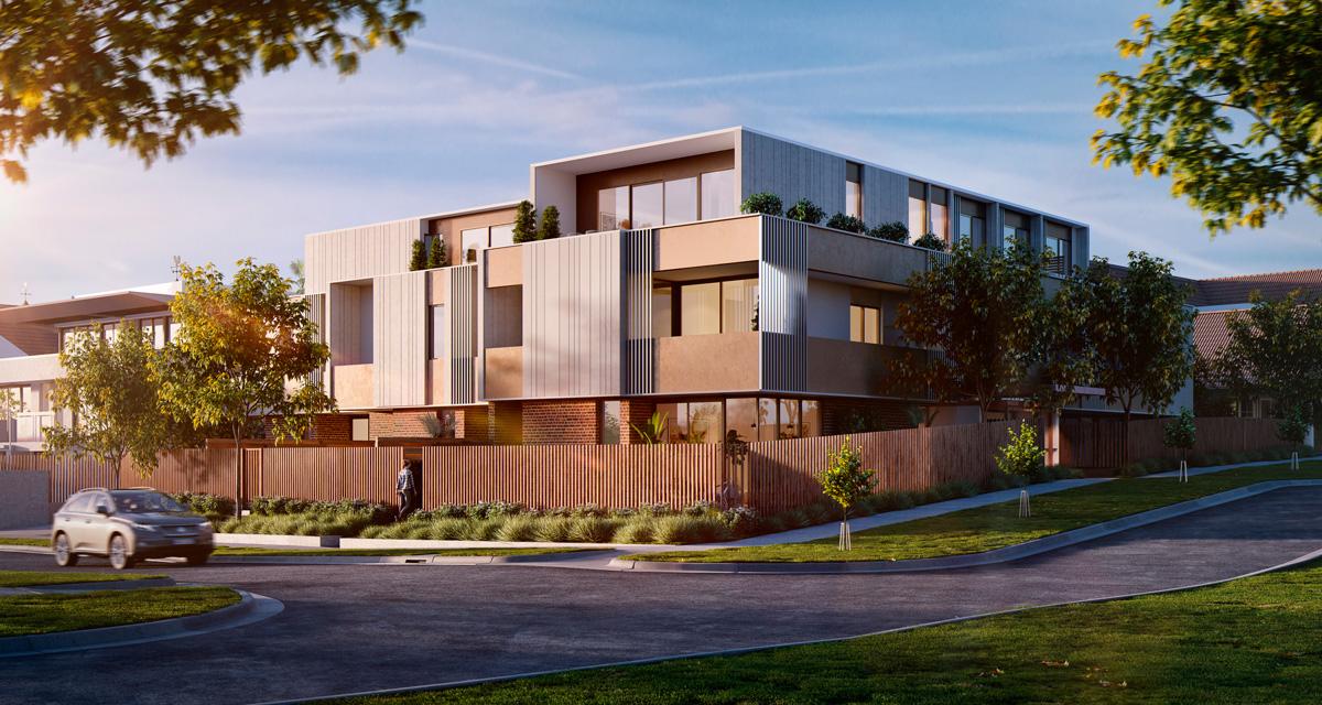 mckinnon living apartments melbourne south east exterior building