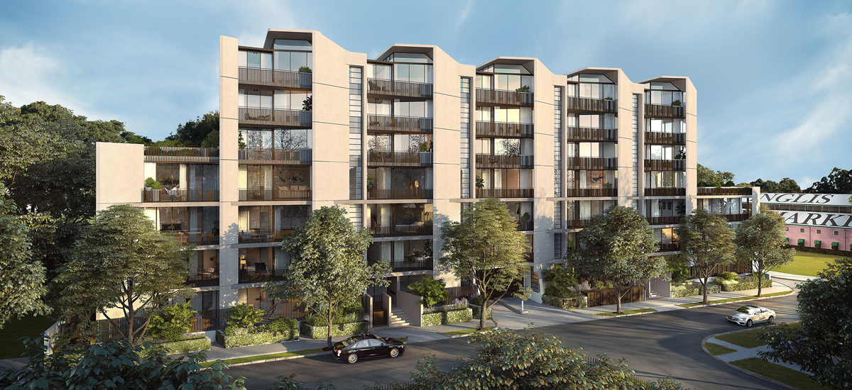 apartment development newmarket randwick exterior