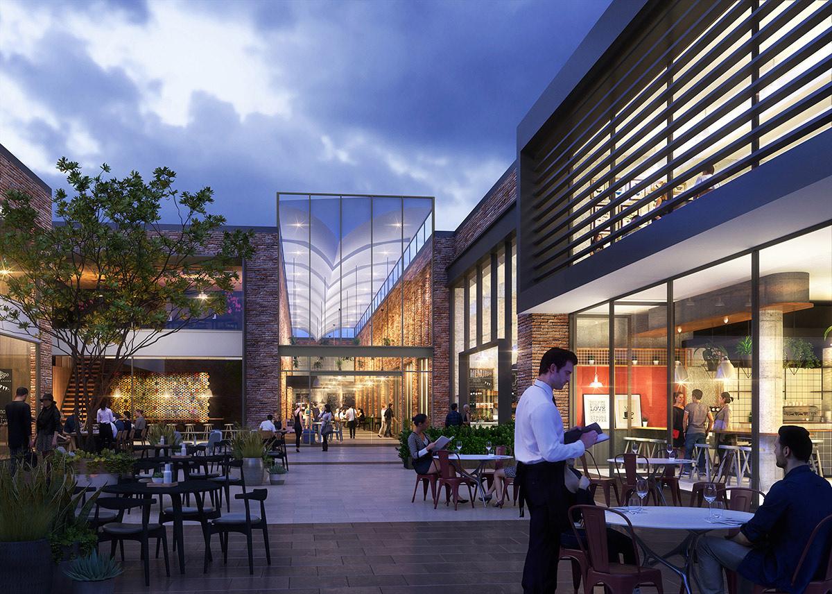 pavilions apartments sydney restaurants