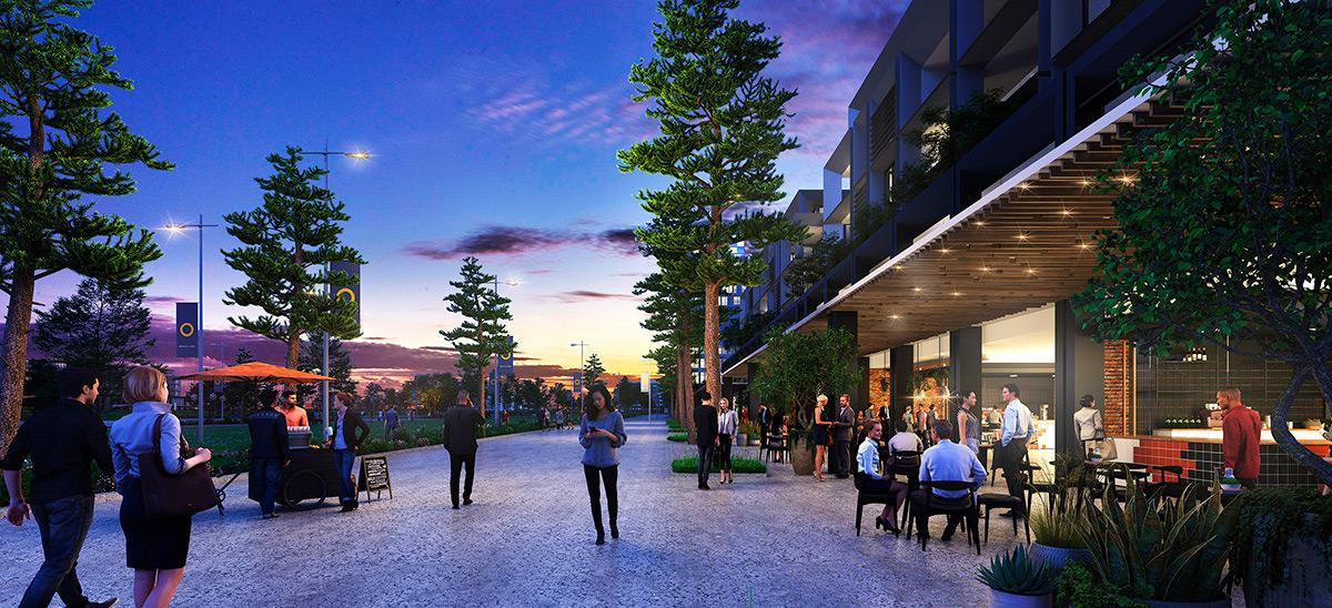 apartment development sydney olympic park pavilions amenity