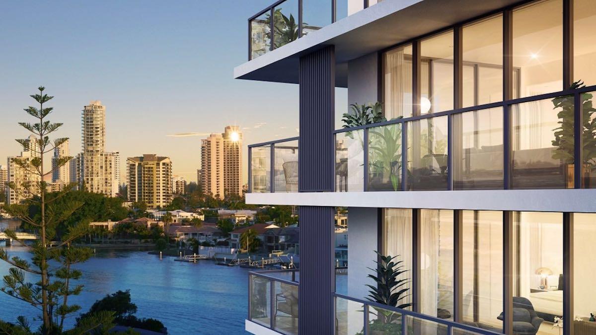 peninsular residences off the plan apartment building facade