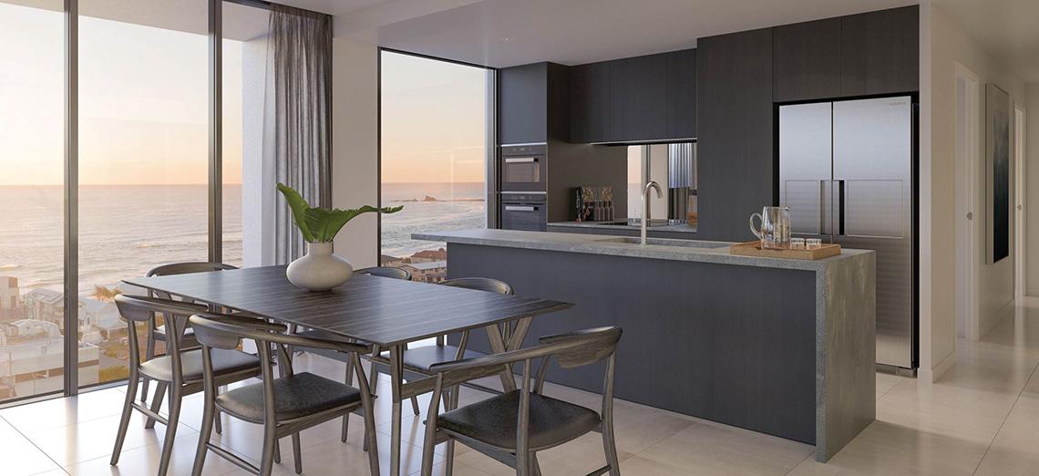 Sea Palm Beach kitchen