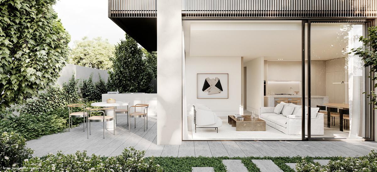 Soligo apartments in Balwyn
