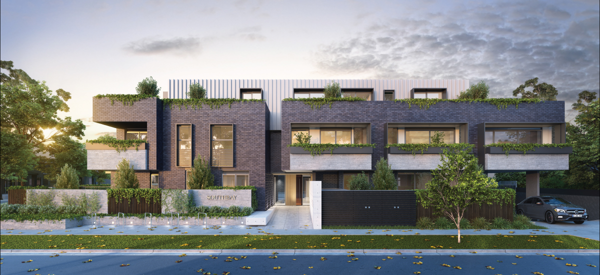 off the plan apartment for sale Southbay building exterior