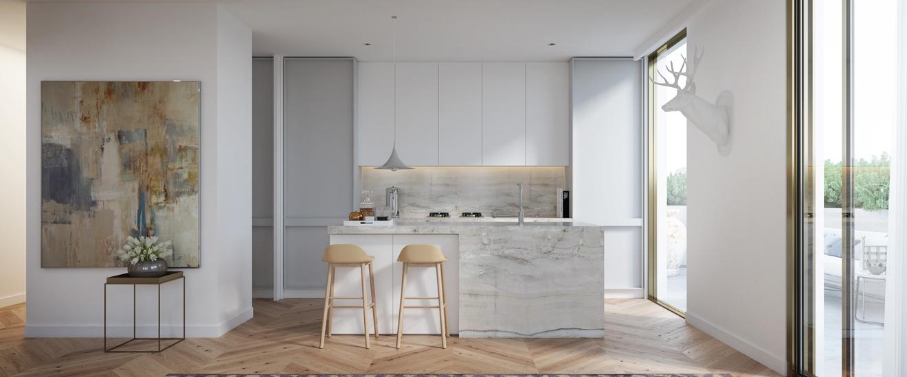off plan apartment for sale Spring Malvern kitchen in Victoria