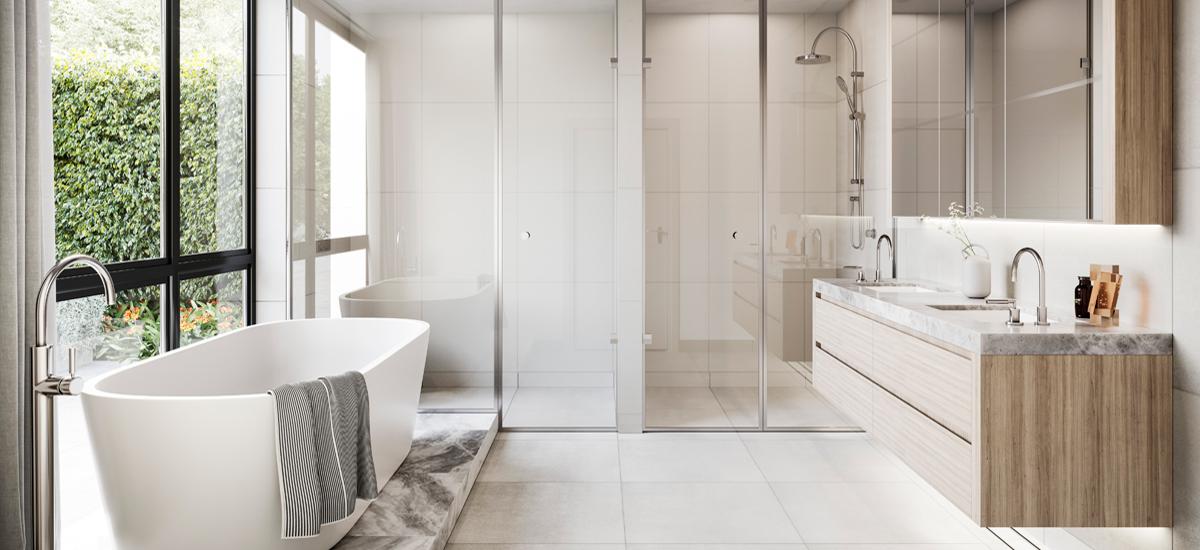 The Beckworth bathroom