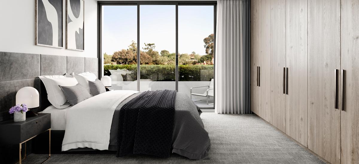 The Beckworth bedroom