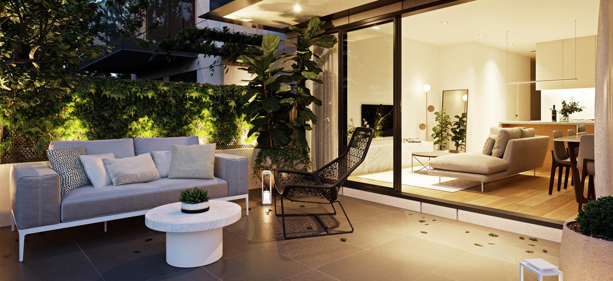 Camira courtyard