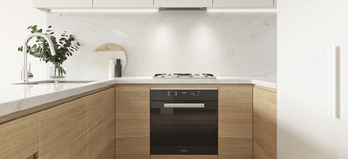 Camira kitchen detail
