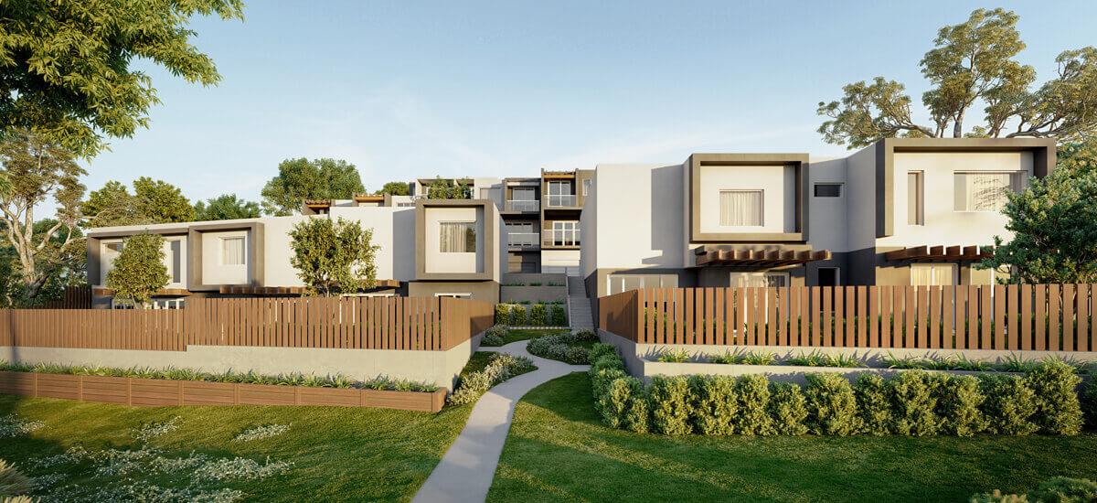 The Terrace apartment exterior in Keilor East Victoria