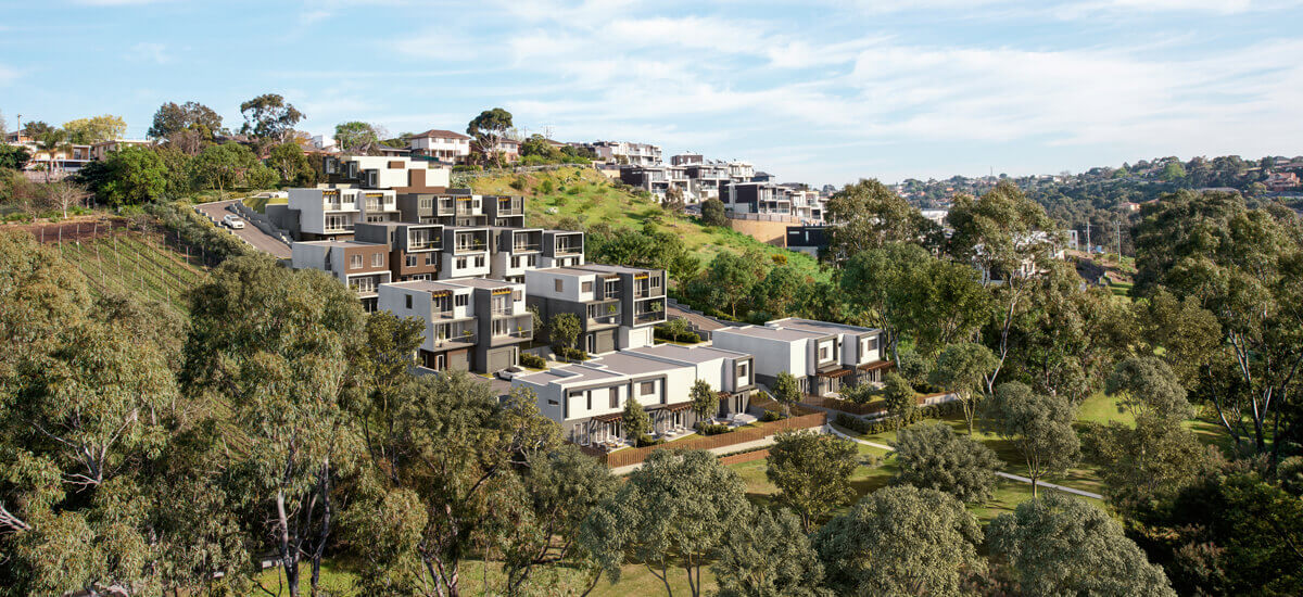 The Terrace apartment scenic exterior in Keilor East Victoria
