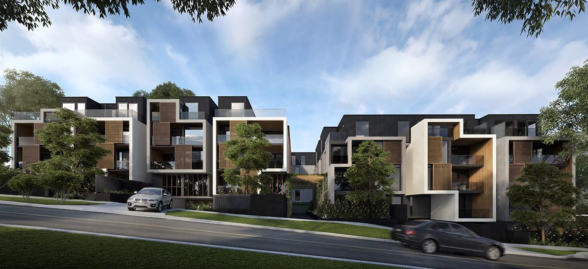 Trio building exterior