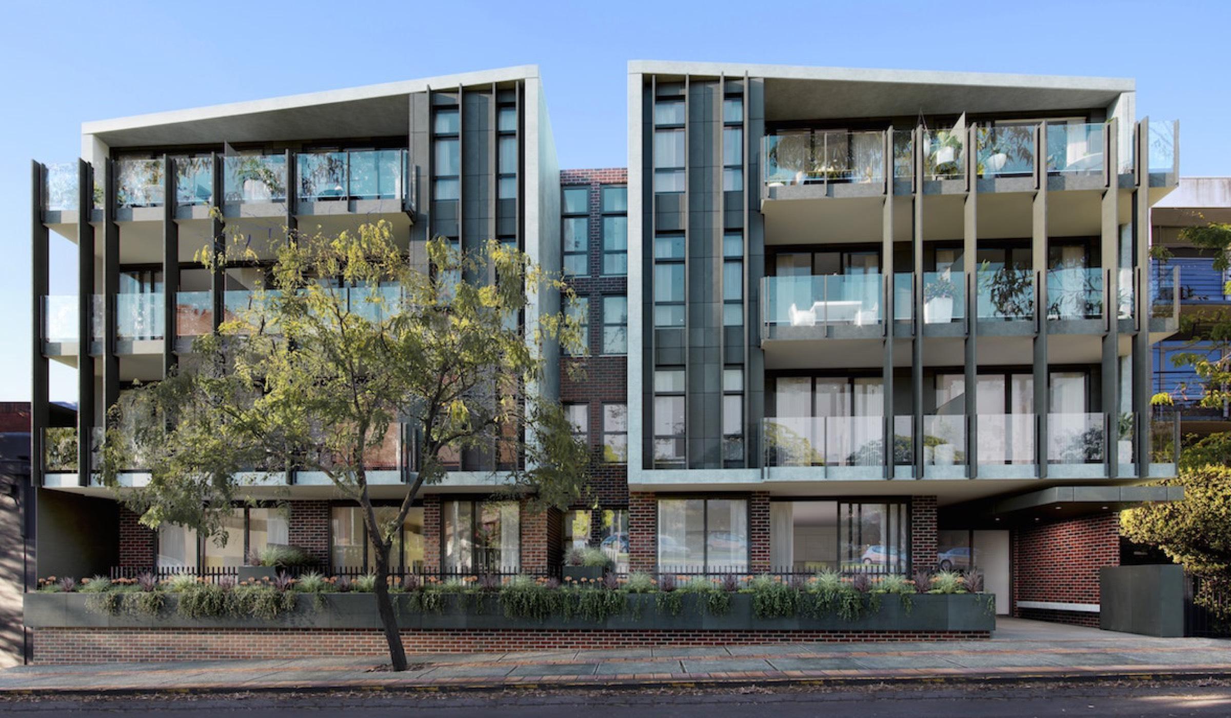 Twenty Two Courtney Apartment exterior