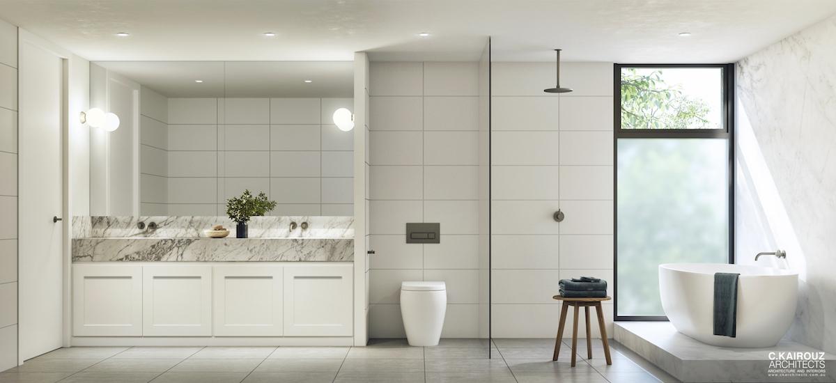 off plan apartment for sale Verdant Kew bathroom