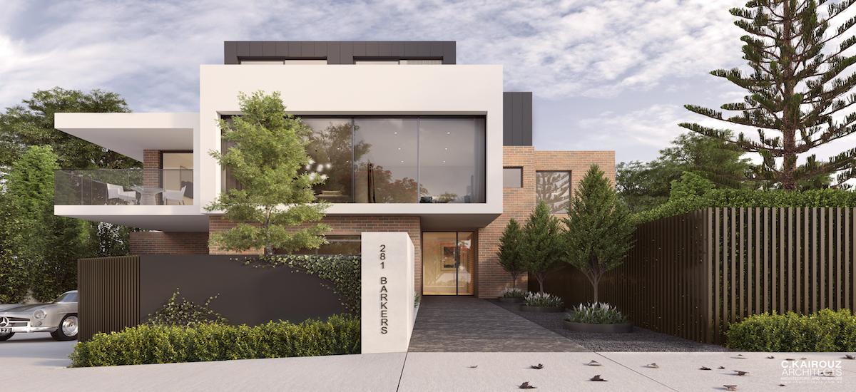 off plan apartment for sale Verdant Kew building exterior