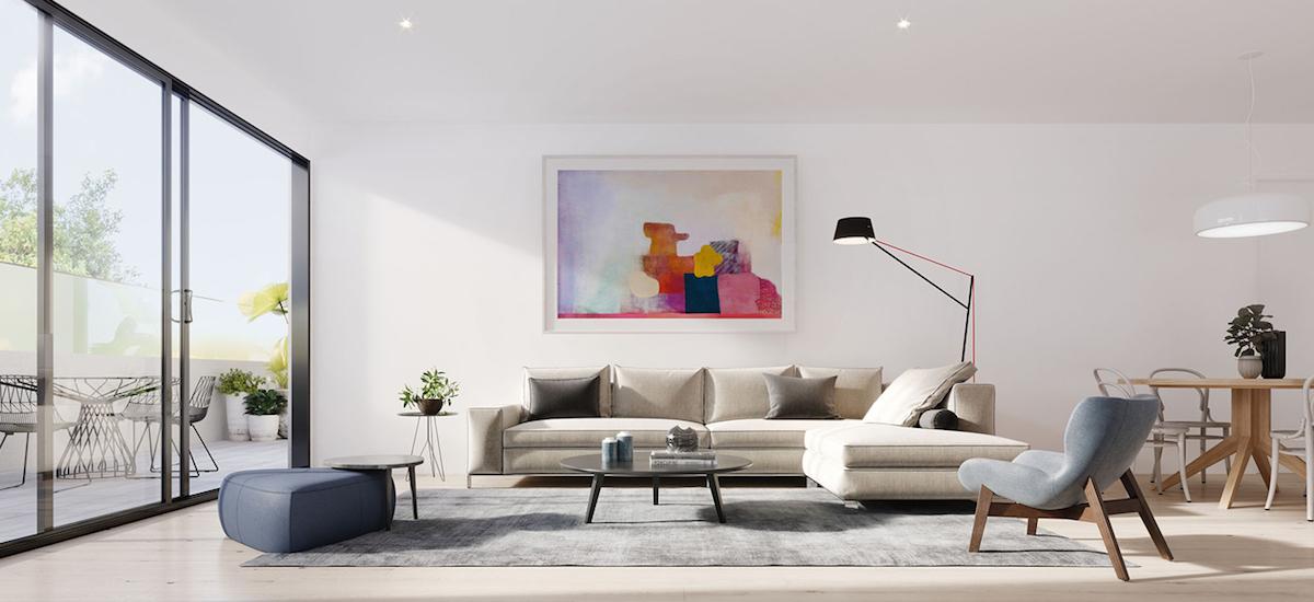 off plan apartment for sale Verdant Kew interior