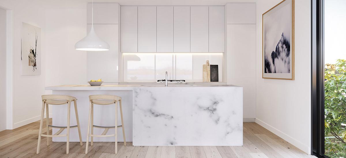 off plan apartment for sale Verdant Kew kitchen
