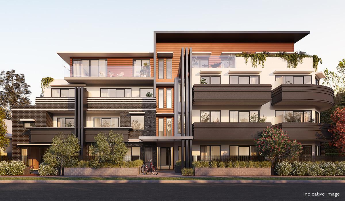Verso apartment exterior