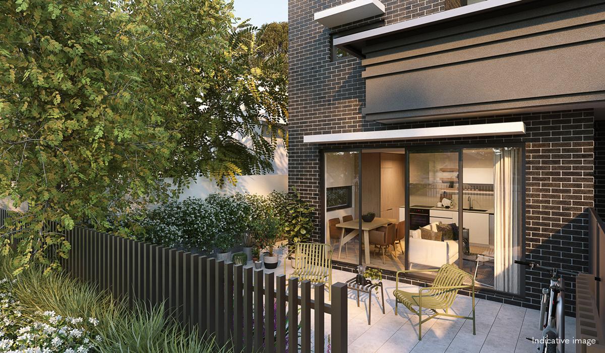 Verso apartment terrace